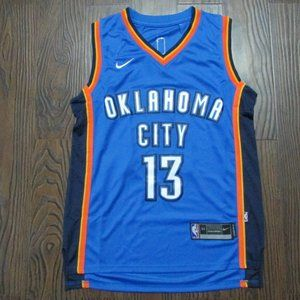 Paul George Oklahoma City Thunder Jersey